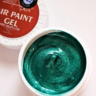 NailApex Гель-краска «Air-paint » №22 Бирюза с мерцанием