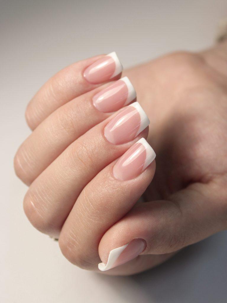 Наращивание гелевых ногтей 1