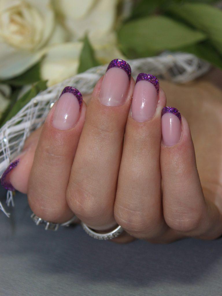 Наращивание гелевых ногтей 5